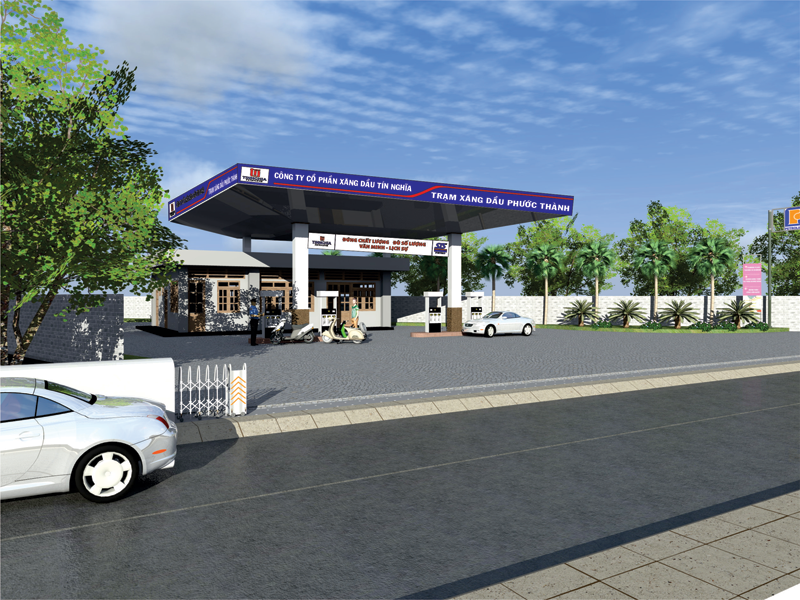 Trạm xăng dầu Phước Thành