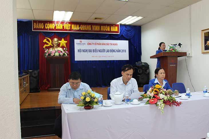 Hội nghị Đại biểu người lao động năm 2018