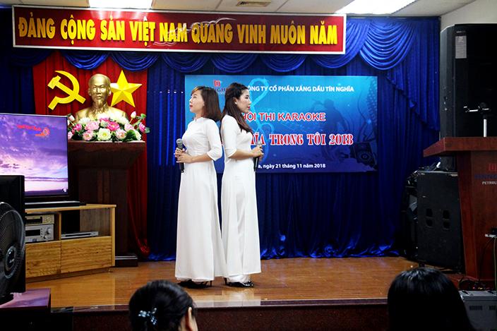 """Hội thi karaoke """"Tín Nghĩa trong tôi"""" chào mừng 30 năm thành lập Tổng Công ty Tín Nghĩa"""